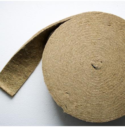 Hampa fibermatta (Rulle)